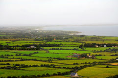 Ирландия, зеленый остров Стоковые Изображения