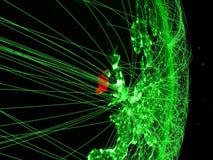 Ирландия на глауконите стоковое изображение rf