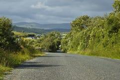 ирландская дорога стоковое изображение rf