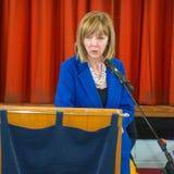 Ирландский сенатор Джоан Фримен кандидата в президенты стоковая фотография rf