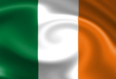 Ирландский флаг иллюстрация штока