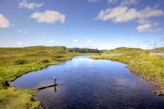 Ирландский Fisherwoman Стоковая Фотография RF