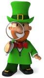 ирландский leprechaun Стоковые Изображения
