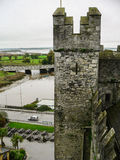 Ирландия Замок Bunratty & парк людей Стоковые Изображения
