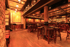 Ирландский бар стоковое изображение