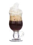Ирландский кофе Стоковые Фото