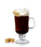 Ирландский кофе Стоковые Фотографии RF