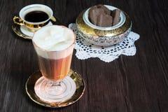 Ирландский кофе Стоковые Изображения