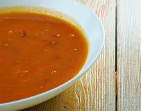 Ирландский суп картошки и петрушки Стоковые Изображения