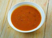 Ирландский суп картошки и петрушки Стоковое Изображение RF