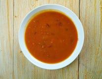 Ирландский суп картошки и петрушки Стоковые Изображения RF