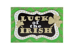 ирландское везение Стоковые Изображения
