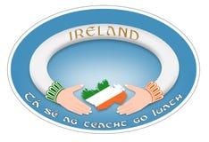 Ирландское кольцо Стоковое фото RF
