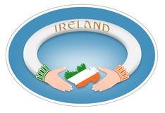 Ирландское кольцо Стоковые Фотографии RF