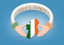 Ирландское кольцо Стоковая Фотография RF