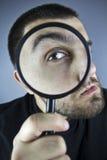 Искать человека Стоковая Фотография RF