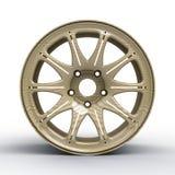 диски для иллюстрации автомобиля 3D Стоковые Изображения RF
