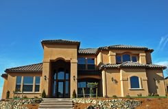 исключительный дом Стоковая Фотография RF