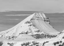 Ископаемая сцена зимы горы Стоковое Изображение RF