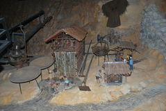 Ископаемые пещеры Стоковое Изображение
