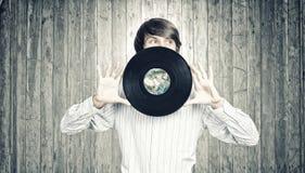 диско dj Стоковое фото RF