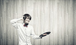 диско dj Стоковое Фото