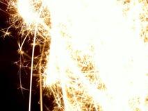 искра взрыва Стоковое Изображение