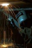 искра прыжока Стоковая Фотография