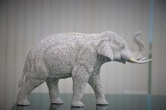 Искра слона Таиланда стоковые фотографии rf
