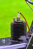 искра штепсельной вилки Стоковое Изображение RF