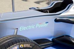 Искра Renault SRT 01E формулы e Стоковое Изображение