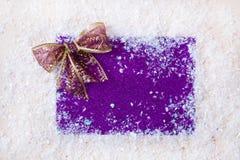 Искра xmas предпосылки рождества освещает текст космоса Нового Года зимнего отдыха карточки красной предпосылки холста веселый Стоковое Фото