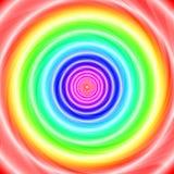 Искривление радуги Стоковые Фото