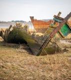 Искривлянная развалина Стоковая Фотография