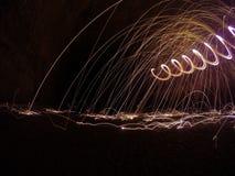 Искры летают Стоковая Фотография RF