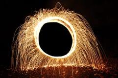 искры круга Стоковое фото RF