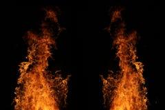 Искры пожара пожар Справочная информация стоковое фото