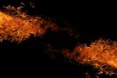 Искры пожара пожар Справочная информация стоковая фотография