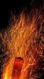 искры Стоковая Фотография RF