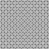 Искусства вектора безшовной картины предпосылки черно-белые бесплатная иллюстрация