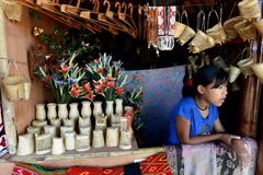 Искусства и ремесла Nagaland Стоковое фото RF