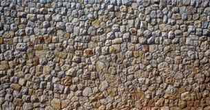 искусственная голубая светлая каменная стена Каменная загородка камень предпосылки детальный реальный очень Стоковые Фотографии RF