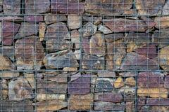 искусственная голубая светлая каменная стена На открытом воздухе камень предпосылки стоковая фотография