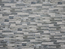 искусственная голубая светлая каменная стена Кирпичная стена Стоковая Фотография RF