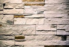 искусственная голубая светлая каменная стена Стоковые Фотографии RF