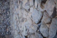 искусственная голубая светлая каменная стена Стоковые Фото
