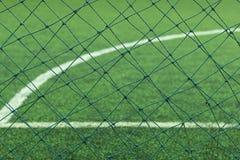 Искусственная дерновина футбола Стоковое Фото