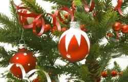 искусственная рождественская елка Стоковые Фото