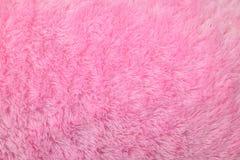 Искусственная розовая предпосылка меха стоковые фотографии rf