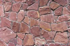 искусственная сделанная каменная стена Стоковые Фотографии RF
